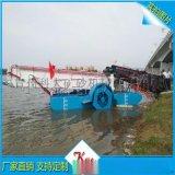 多种河道环境水草打捞船 浙江液压控制水葫芦打捞机械