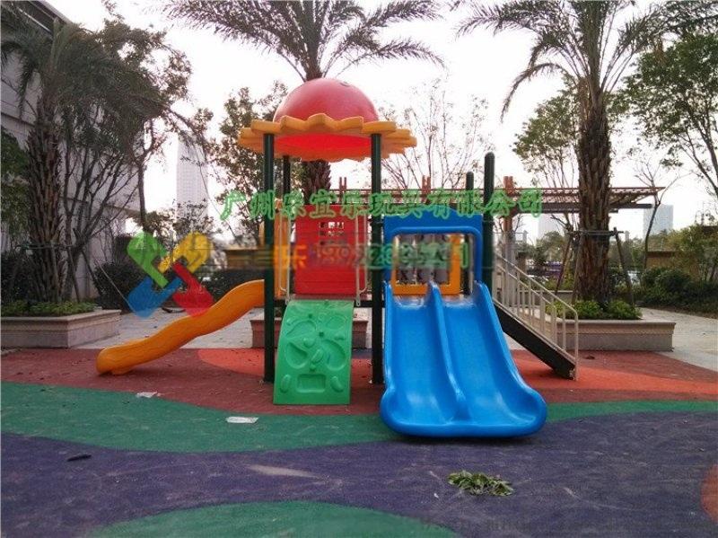 惠州梅州汕尾公园滑梯小区社区小孩滑滑梯游乐设备批发图片