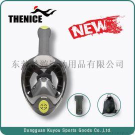 2018年THENICE最新全幹式浮潛面罩