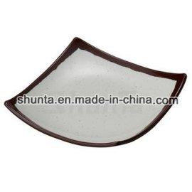 密胺正方碟CS4212 100%美耐皿材質