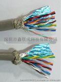 双绞屏蔽线 485通讯线 柔软RVSP 14*0.2 抗干扰信号线镀锡铜线