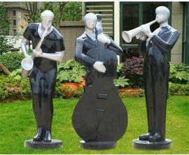 武汉美陈雕塑公司 玻璃钢雕塑厂家 园林景观动物雕塑 玻璃钢仿铜雕塑