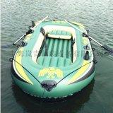 PVC充气船钓鱼船 二人充气皮筏艇
