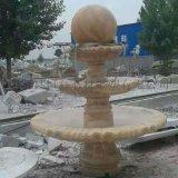 園林中的石雕噴泉雕塑
