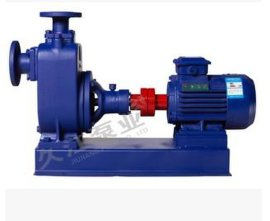 专业生产 自吸式清水离心泵 ZX150-170-55-45KW大口径农用泵