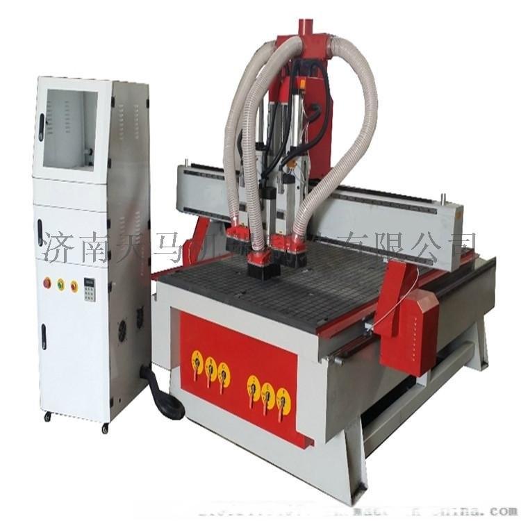 宁夏1325木工雕刻机 数控板材桌椅腿雕刻机