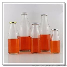 300ml-1000旋盖玻璃奶瓶,出口内贸玻璃瓶