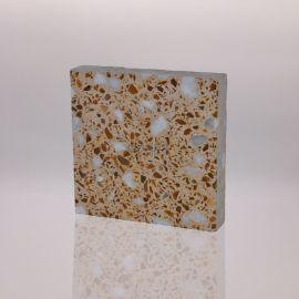 重庆彩色预制水磨石精品地面砖YZ022