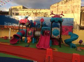 湛江幼兒園大型組合滑梯定做兒童滑梯塑料滑梯小型組合滑梯廠家直銷e