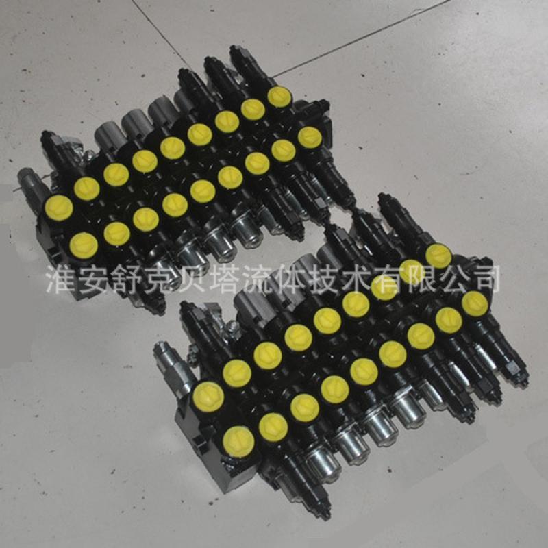 zcdb-l15f-04t.4ot.3o4t-1控2系列小挖掘机液压多路阀图片