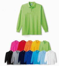 长袖polo衫定制  加工 生产 长袖T恤衫供应