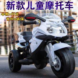 儿童电动车 电动摩托车 带音乐电动汽车