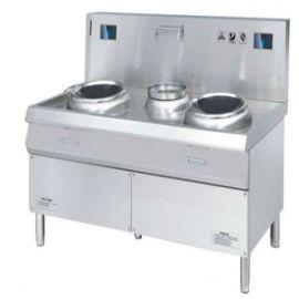 双炒双温炒炉、厨房设备上鑫嘉华、 酒店厨房炒炉多少钱