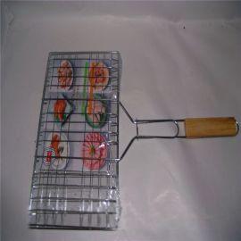 直销圆形 方形 带柄烧烤网 不锈钢烧烤网