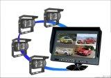 货车校车全景车载监控系统。全方位实时监控画面,为安全驾驶提供保障