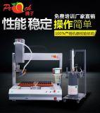 深圳桃子自动点胶机厂家供应5331双平台旋转点胶机