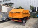 公路养护车江铃双排座自卸车图片