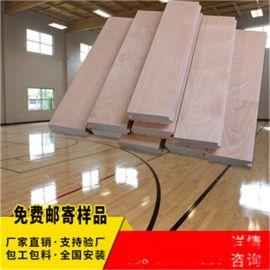 鄂爾多斯體育木地板廠家籃球場館木地板
