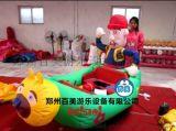 最新广场电动玩具车 儿童充气电瓶车价格