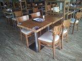 实木餐桌椅图片,广东鸿美佳厂家定制高度实木餐桌椅