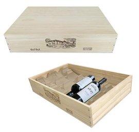 原装平排六支木箱