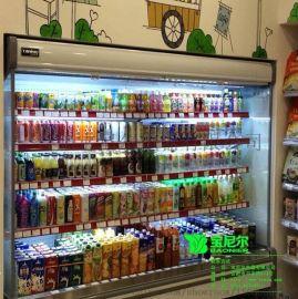 自助餐展示冰柜 自助餐厅水果蔬菜保鲜柜风幕柜