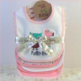 婴儿纯棉口水巾双层棉布baby bibs