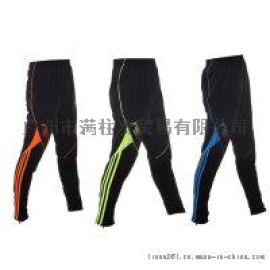 运动裤长裤男女 拉链收腿体育比赛裤 骑行跑步裤足球训练裤