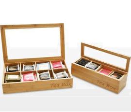 出口茶叶盒 茶叶盒 竹制茶叶罐 高档茶叶罐 定制茶叶罐