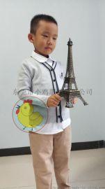 Chick  baby小鸡服装厂家幼儿园服毛衣老师开衫毛衣全棉V领开衫针织外套打底针织衫