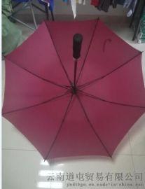 厂家批发定制自动直把雨伞