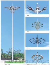 四川高杆灯厂家15米-30米升降高杆灯报价
