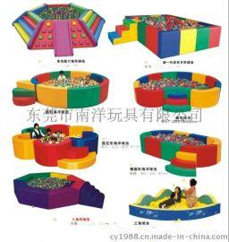 儿童海洋球池、沙池