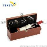 益訊红酒创意包装盒 礼品包裝盒 pu包裝盒 高档包装 高档酒盒 高档红酒