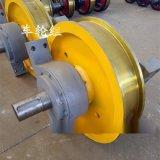800*200电动平车车轮组 铸钢整体调质轮 双梁大车运行轮