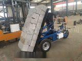 神力電動自卸背磚車 電動自卸運輸車  建築工程隊專用氣塊電動拉磚車 電動拉磚車