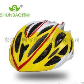 最新款户外一体速成型自行车山地车头盔