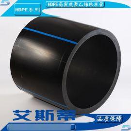 河北HDPE高密度聚乙烯给水管、PE黑色自来水管