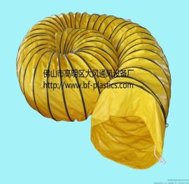 耐磨大口徑PVC伸縮風管,通風管,阻燃通風管,螺旋通風管