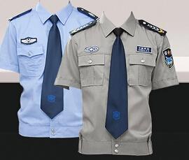 保安服短袖衬衣 物业服装定制