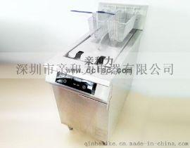 清蒸菜館專用親和力電磁油炸爐批發