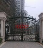 高端别墅小区锻造欧式铁艺大门