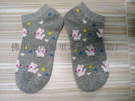 船袜隐形袜 日韩流行风格女袜 3D魔术袜 卡通动画女袜短
