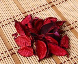 红色棉花壳批发大量供应香薰精油OPP袋 化妆品专柜汽车家居香包