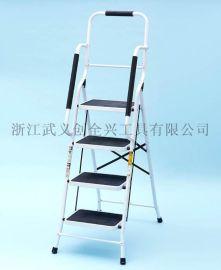 梯子 多功能便携式阶梯 家用梯 铁梯 碳钢梯 美国英国爆款