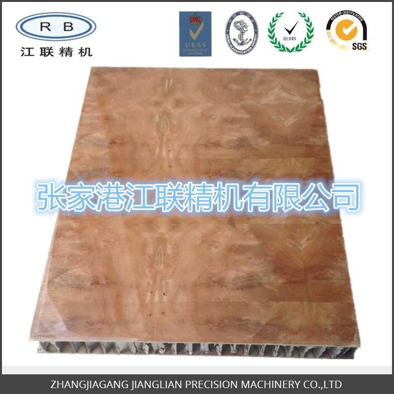 厂家定做 高光实木树瘤蜂窝板 轻质隔墙隔断板 防火厕所隔断板
