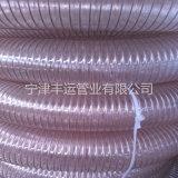 耐磨木工機械抽吸管透明PU吸塵管山東PU管廠家