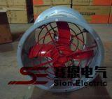 CBF-300防爆轴流风机电压220/380v 功率0.18KW 转速1450r/min
