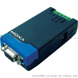 TCC-80-DB9 MOXA RS232转RS485、422 转换器 DB9接线
