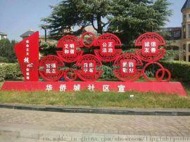 安徽标牌厂定制导向标牌精神堡垒A32系列花草牌